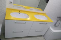 008 Ванн жёлтая